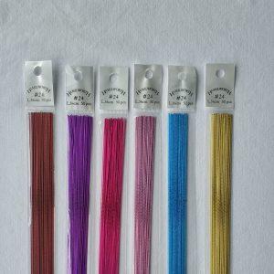 Hamilworth #24 Gauge Metallic Florist Wire
